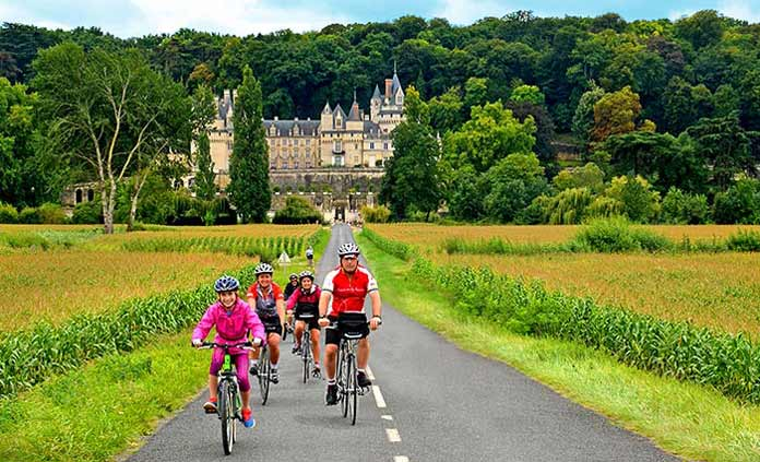 bicycle touring with kids