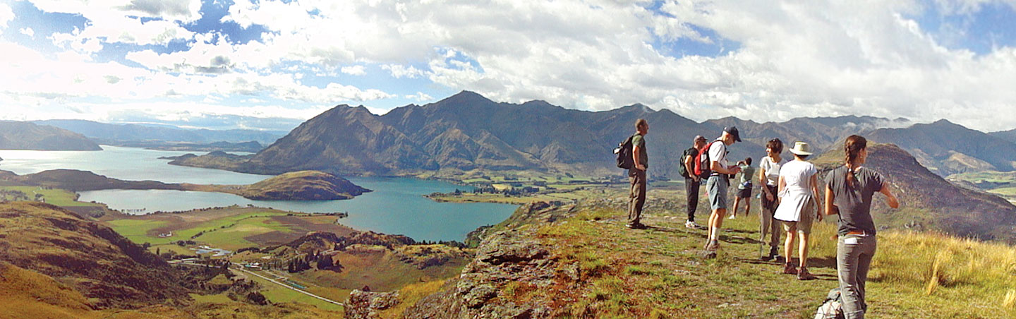 Hiking in New Zealand article