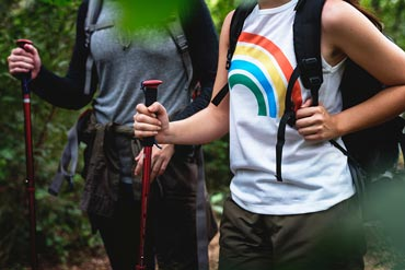 Hiking Sticks—Benefits, Sizing and Proper Techniques