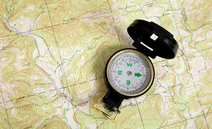 how to read a topographic map article
