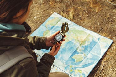 How to Use a Hiking Compass
