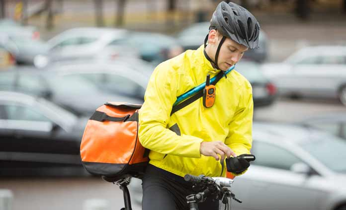 layering for cyclists